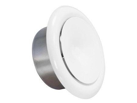 Anemostat metalowy nawiewny Ø160
