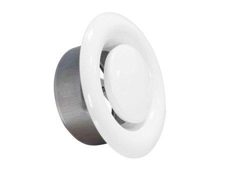 Anemostat metalowy wywiewny Ø150
