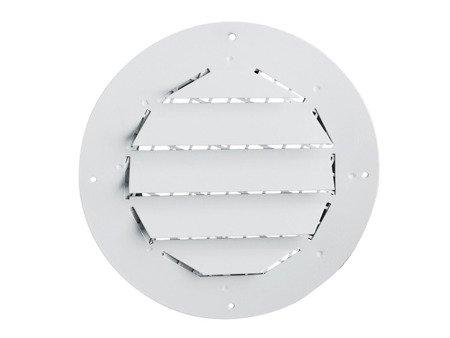 Czerpnia/wyrzutnia biała Ø160